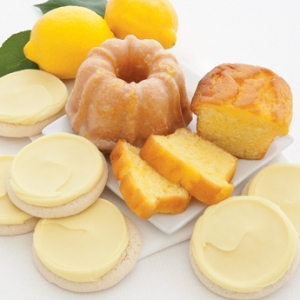 Lemon Treats Gift Cheryls Cookies and Cakes Spring