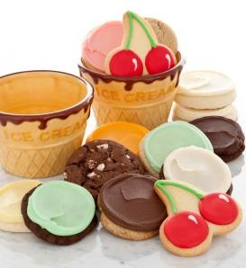 ice cream bowl gift set