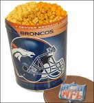 The Popcorn Factory NFL 3-Flavor Popcorn Tin