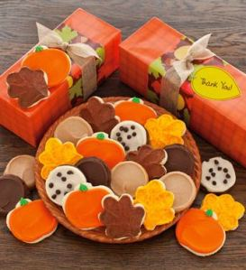 Autumn Cookie Gifts - Frosted Cookies