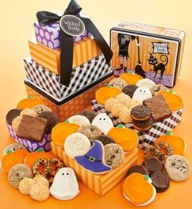 Halloween Gift Tin Tower