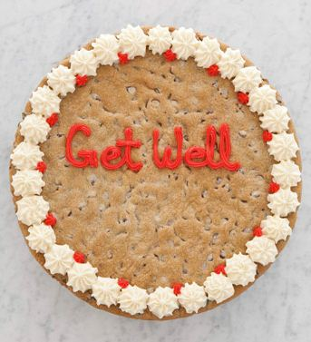 Get Well Chocolate Chip Cookie