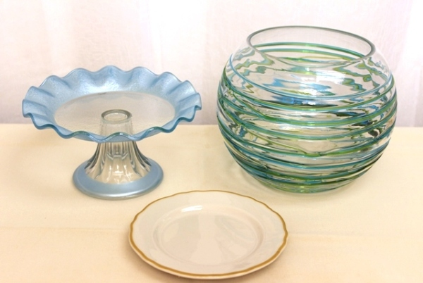 How to Turn a Cake Platter, Vase, and Plate Into a DIY Cookie Jar