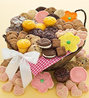 Large Spring Treats Basket