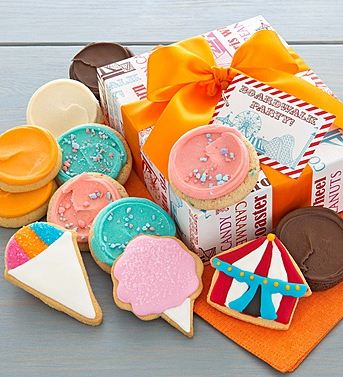 Carnival Fancy Cookie Gift Box