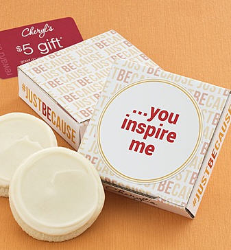 You Inspire Me Cookie Card