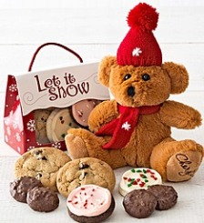 Holiday Bear with Treats