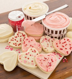 Cherly's Valentine's Day Cutout Cookie Kit