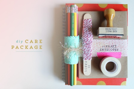 homemade-care-packages-stationery-package