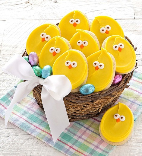 easter-treats-chick-cookies